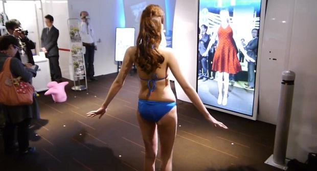 «Волшебное зеркало» для примерки одежды