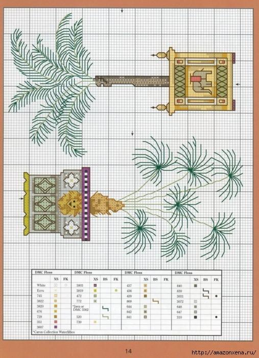 Отличный журнал вышивки Marie Barber - Cross-Stitch Florals (8) (507x700, 325Kb)