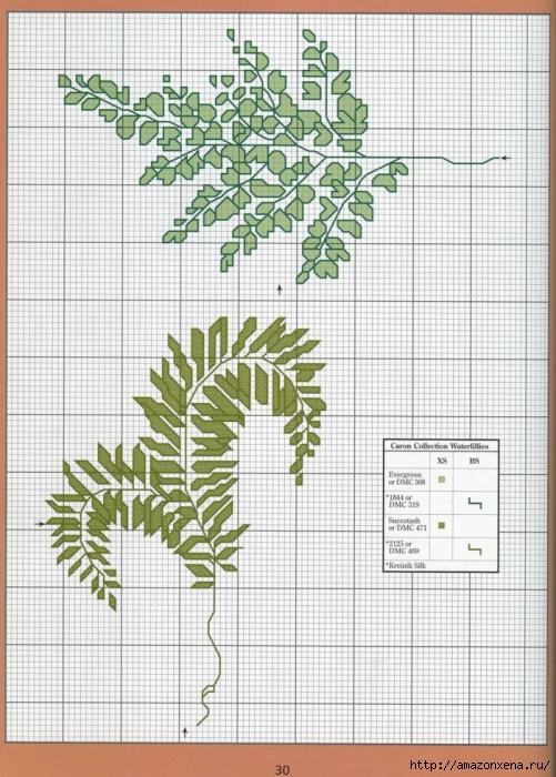 Отличный журнал вышивки Marie Barber - Cross-Stitch Florals (24) (501x700, 302Kb)