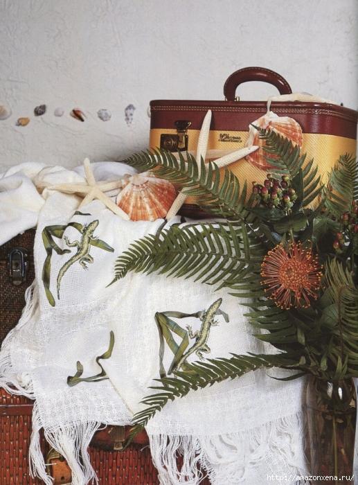 Отличный журнал вышивки Marie Barber - Cross-Stitch Florals (34) (517x700, 324Kb)