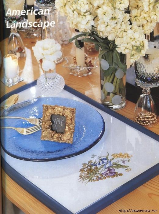 Отличный журнал вышивки Marie Barber - Cross-Stitch Florals (37) (521x700, 325Kb)