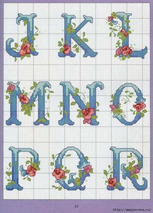 Отличный журнал вышивки Marie Barber - Cross-Stitch Florals (41) (504x700, 321Kb)