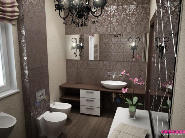 Bathroom picture art