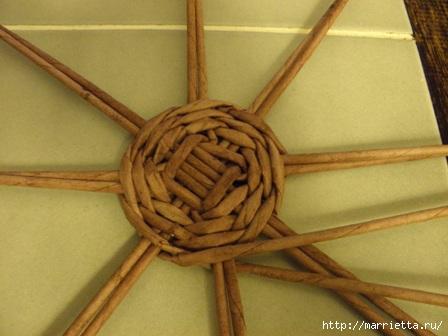 пасхальная курочка из газетных трубочек (28) (448x336, 78Kb)