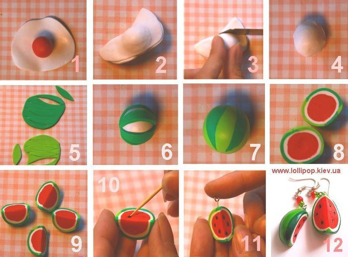 Как делать полимерную глину