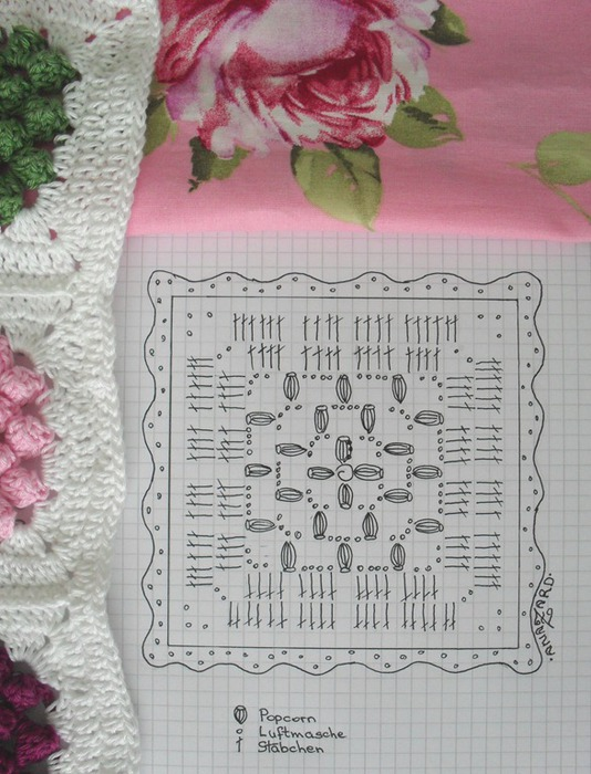 вязание крючком. плед и подушки (7) (534x700, 121Kb)