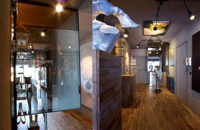 Cтиль лофт в интерьере квартиры от студии OOZE Architects 3 (700x456, 53Kb)