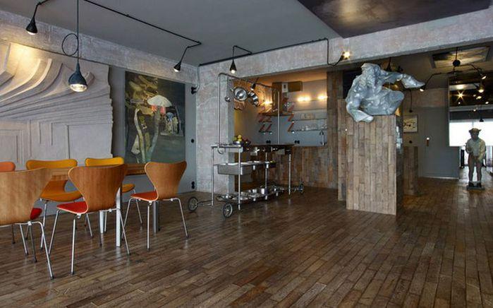 Cтиль лофт в интерьере квартиры от студии OOZE Architects 5 (700x436, 55Kb)