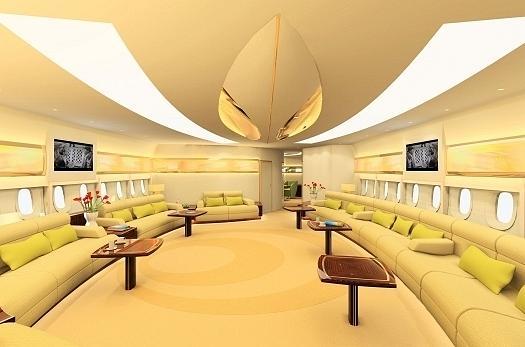 самолет Boeing 747-700 принца аль–Валид бин Талала 2 (525x347, 26Kb)