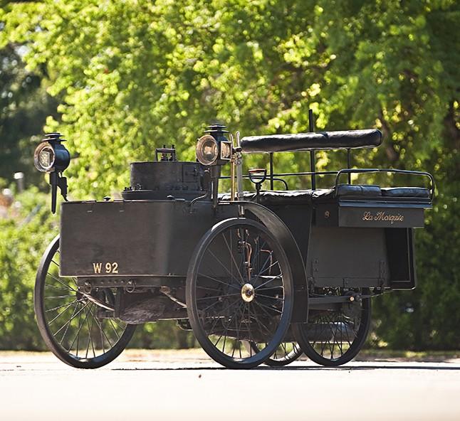 De Dion Bouton Et Trepardoux Dos-A-Dos Steam Runabout  самая старая машина в мире фото (646x592, 137Kb)