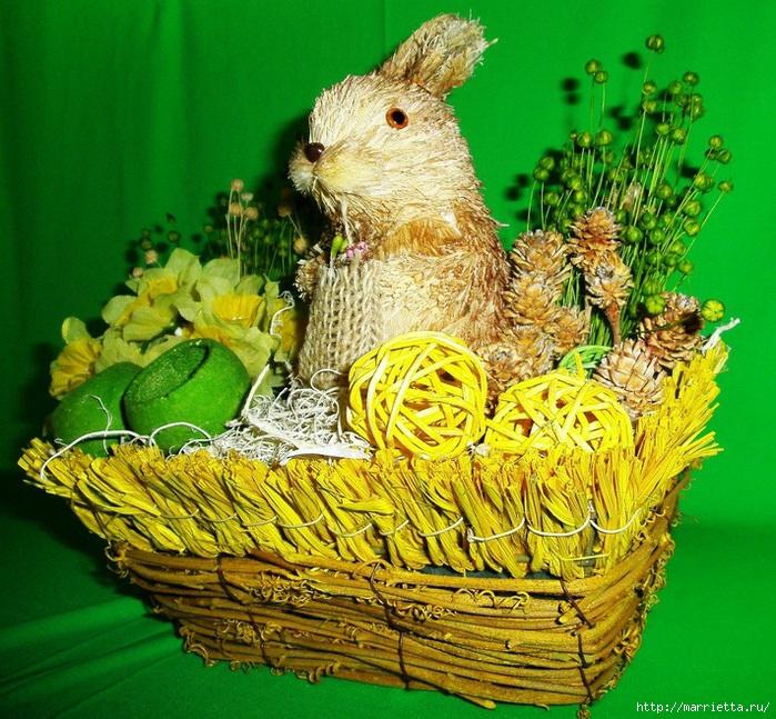 пасхальный кролик (3) (700x647, 400Kb)
