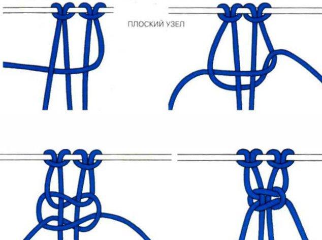 Чокер из наушников плетение