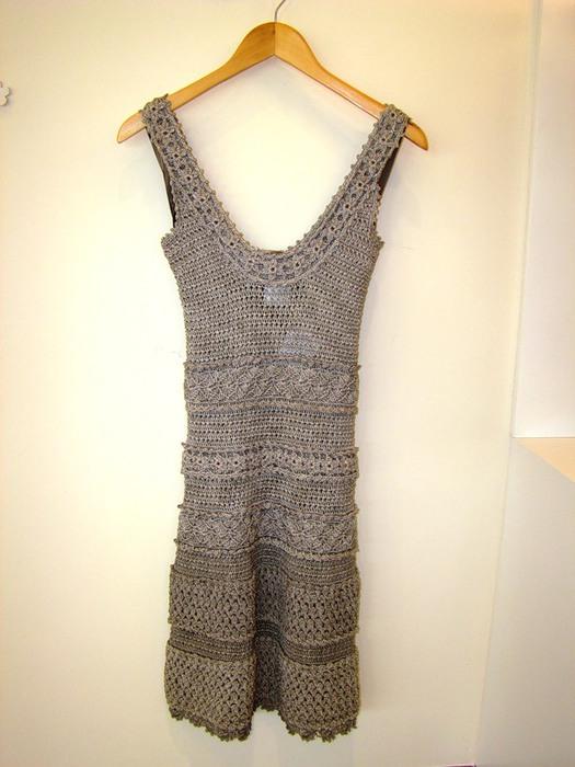 Схемы вязания платья Ванессы