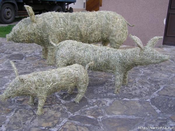 фигурки из сена и соломы (33) (600x450, 274Kb)