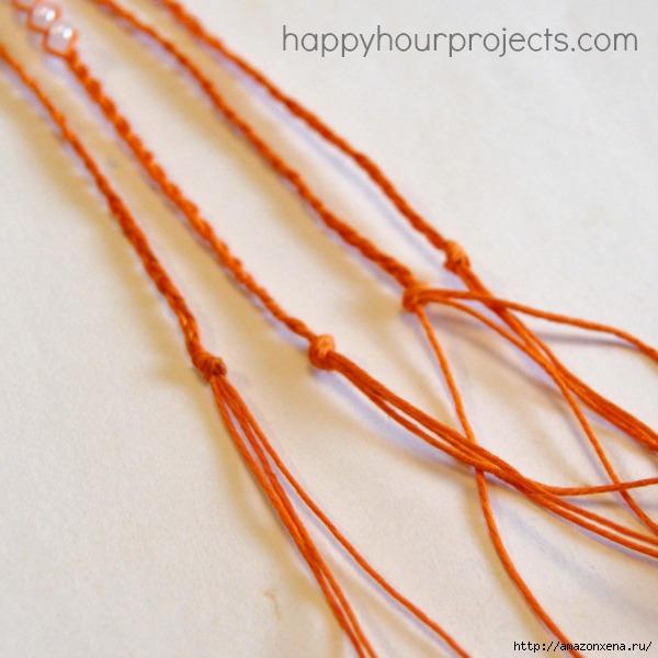 Как своими руками сплести браслет из веревки и бусин (20) (600x600, 162Kb)