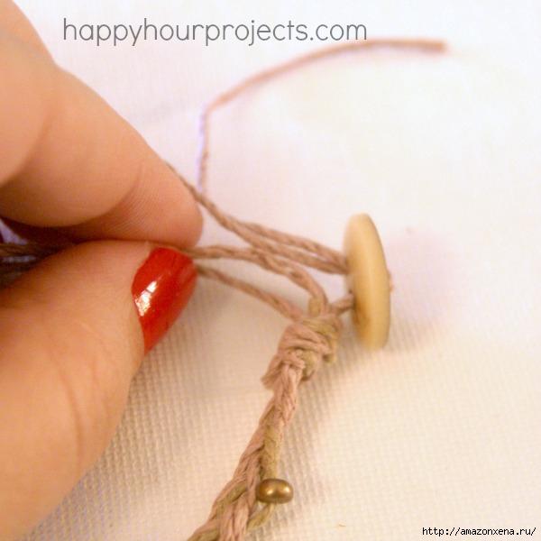 Как своими руками сплести браслет из веревки и бусин (22) (600x600, 134Kb)