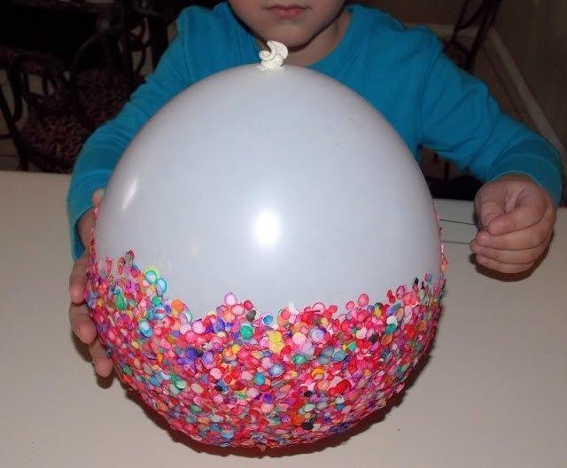 Как сделать шар из ниток и воздушного шарика