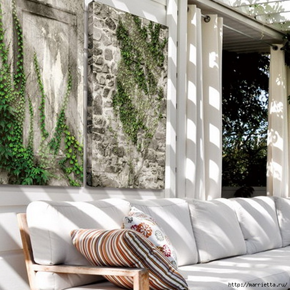 Плющ (Хедера хеликс). Потрясающие композиции для украшения дома и сада (91) (591x591, 232Kb)