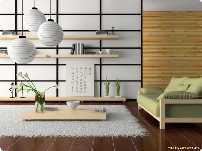 фото японский стиль дизайн квартир