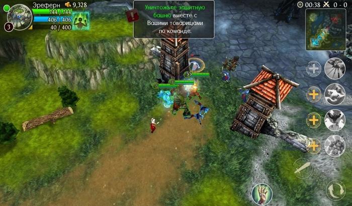 Arcane Legends. Legendary Heroes. В-шестых, MMORPG минувшего года также б