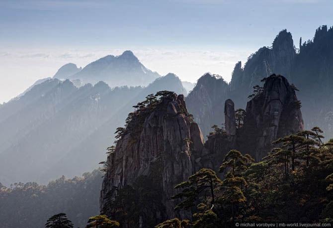горы хуаньшань китай фото 1 (670x458, 68Kb)