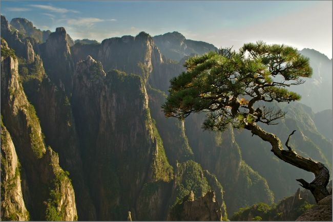 горы хуаньшань китай фото 5 (650x434, 51Kb)