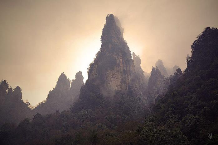 горы хуаньшань китай фото 9 (700x466, 87Kb)