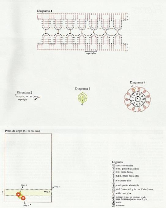 Красивая обвязка крючком (20) (543x680, 84Kb)
