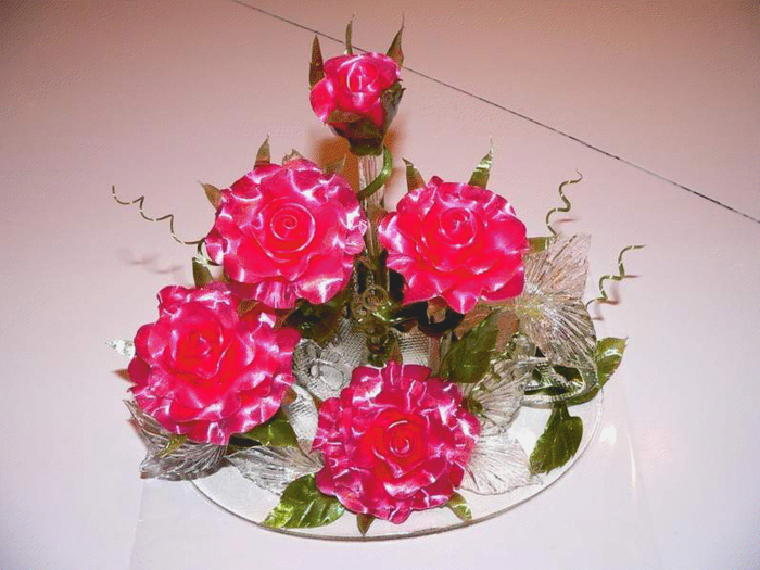 Цветы из карамели своими руками в домашних условиях