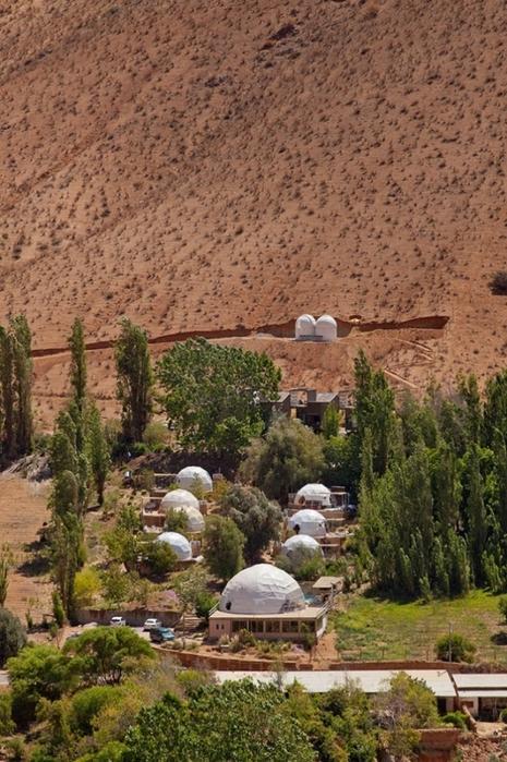 астрономический отель Elqui Domos в чили (465x700, 306Kb)