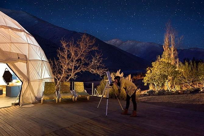 астрономический отель Elqui Domos в чили 4 (670x447, 210Kb)