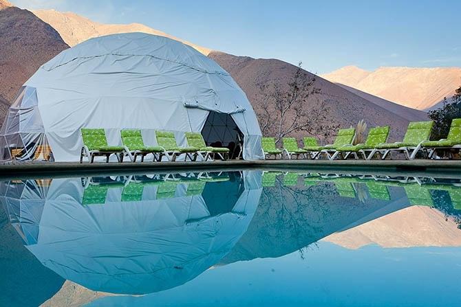 астрономический отель Elqui Domos в чили 8 (670x447, 184Kb)