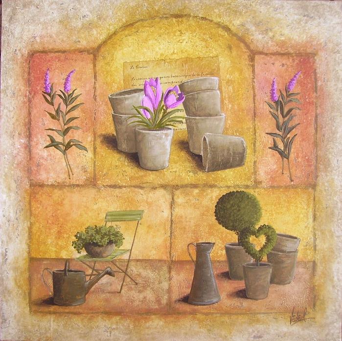 Картинки для декупажа цветы прованс 3