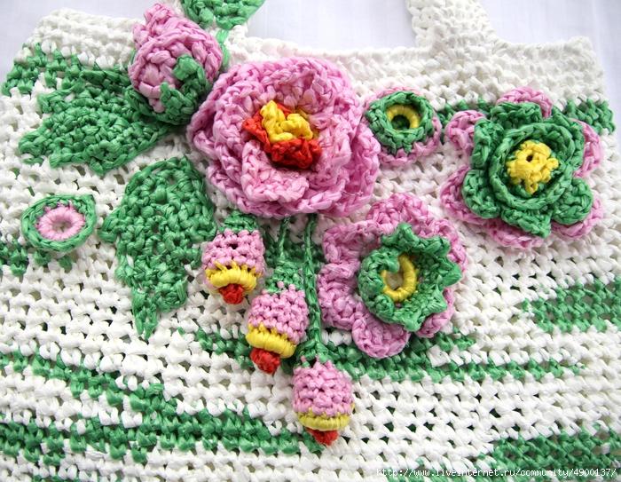 Вязание авоськи сетки