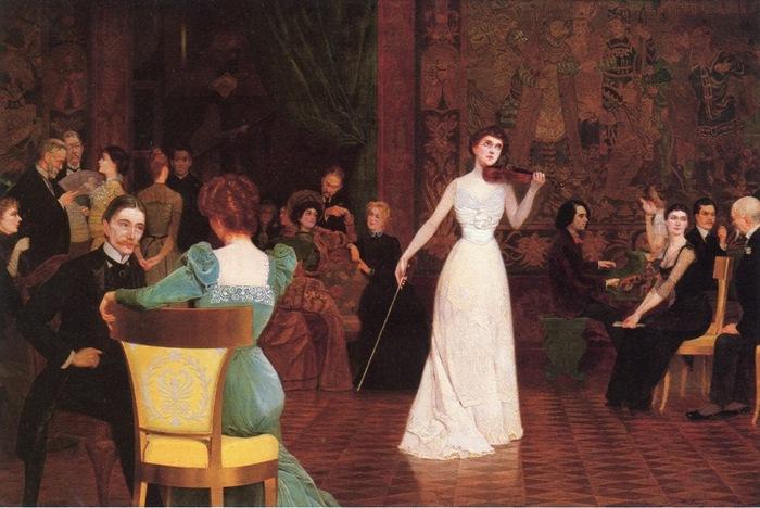 Концерт, 1903 (700x468, 114Kb)
