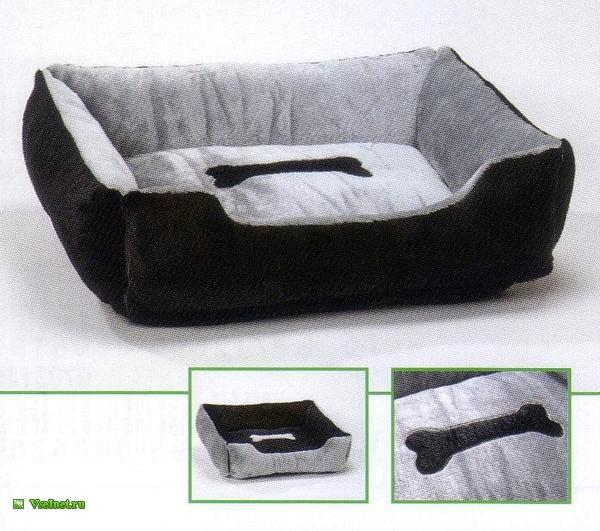 Лежак для собак с бортиком I.P.T.S.  Samora  95 80 25см (600x531, 96Kb)
