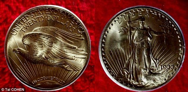 Золотая монета Двуглавый Орел Double Eagle 2 (634x312, 87Kb)