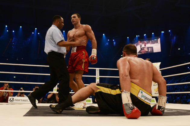 Владимир Кличко нокаутировал Франческо Пианету (630x419, 36Kb)