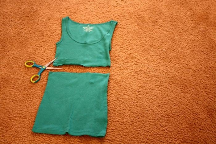 Шьём пояс для платья