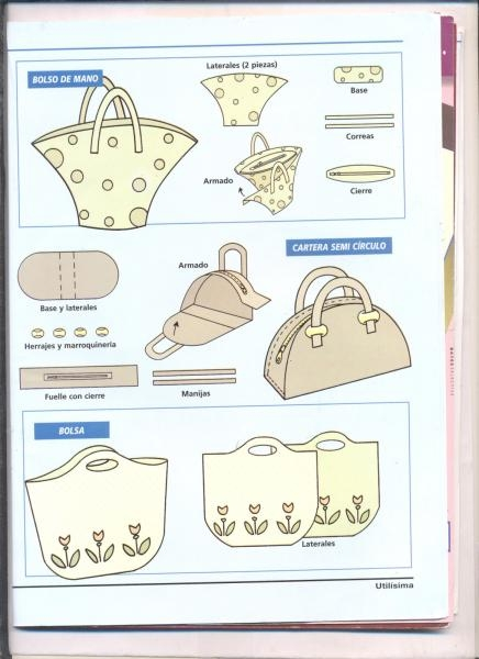 Из чего сшить сумки и выкройки