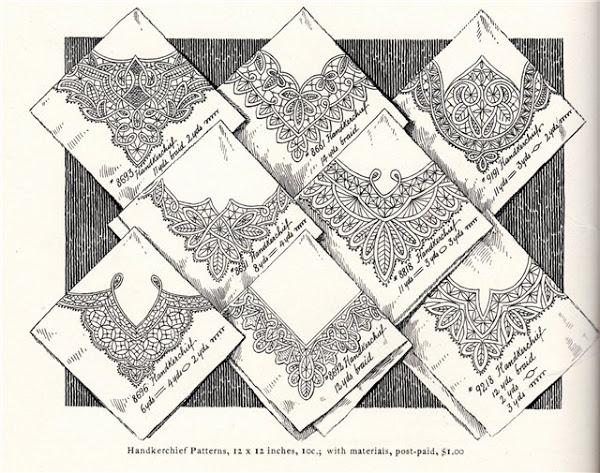 Схемы для румынского кружева.