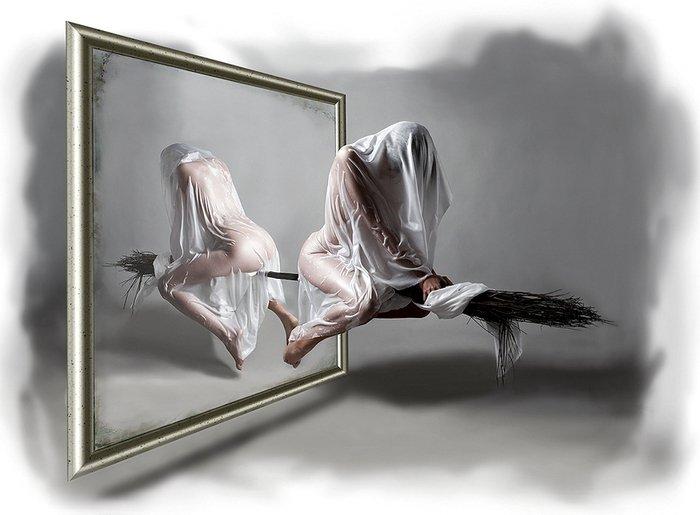 голая ведьма под мокрой простыней (700x515, 47Kb)