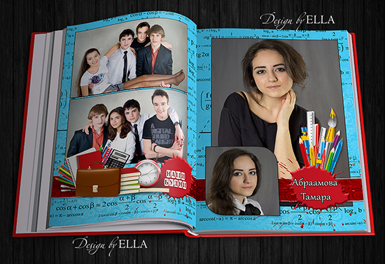 4-Printing photo book for graduates - Formulas (550x378, 270Kb)