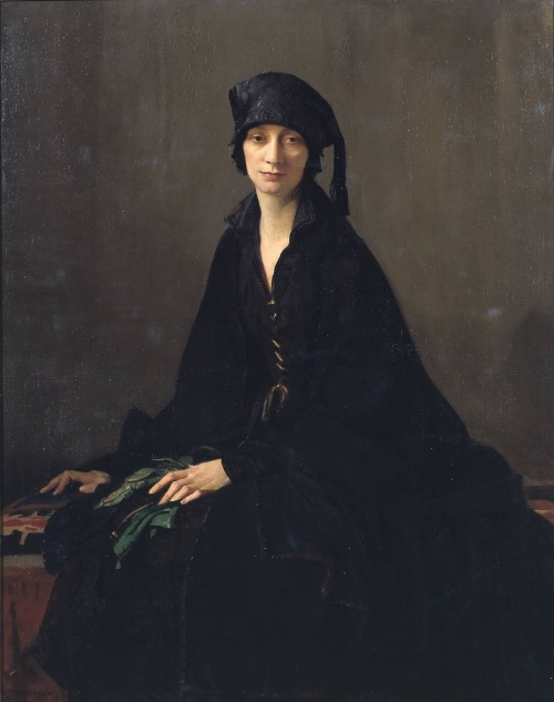 1343404147-144511-george_spencer_watson_1869-1934_-_a_lady_in_black_1922 (500x633, 74Kb)