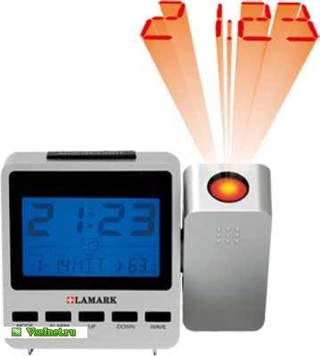 Часы проекционные LAMARK LK-2100 SR (359x400, 18Kb)
