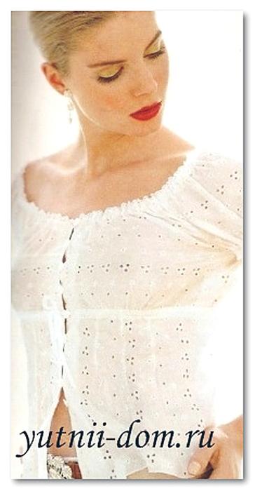 Летняя Блузка Из Шитья