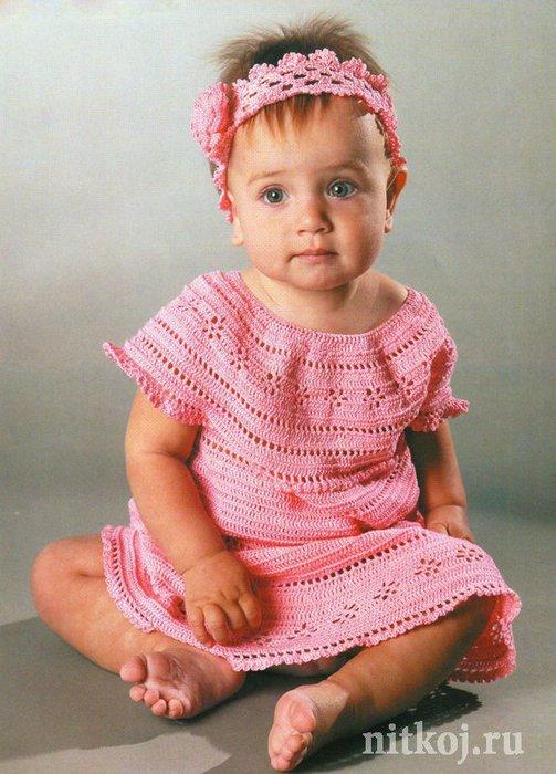 Красивые платья для новорожденных девочек 11