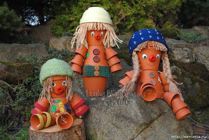 Как сделать кукол для сада