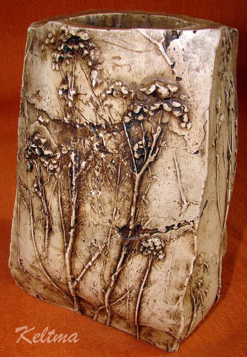 Мастер класс по работе с вазами