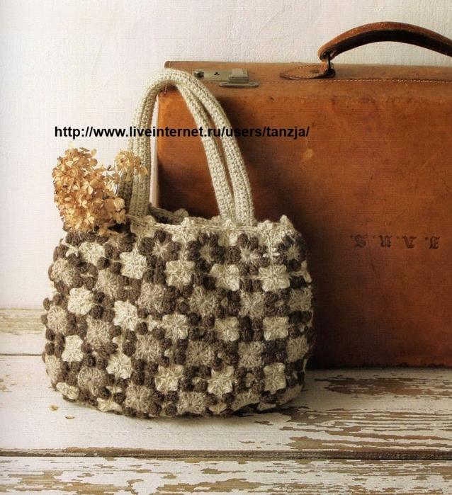 вязание крючком. сумочки (4) (638x700, 363Kb)